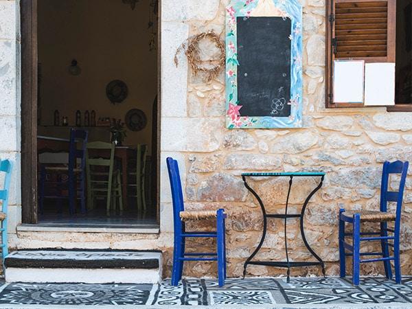 Essen wie in Griechenland